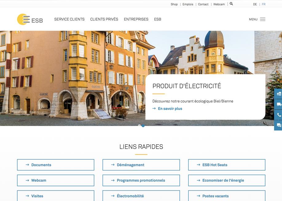 Energie Service Biel/Bienne