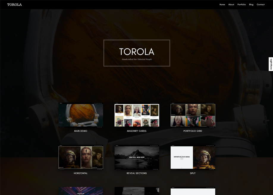 Torola - Photography Theme