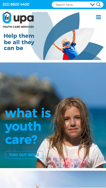UPA Youth Care Foster Programs