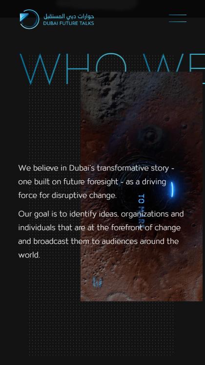 Dubai Future Talks