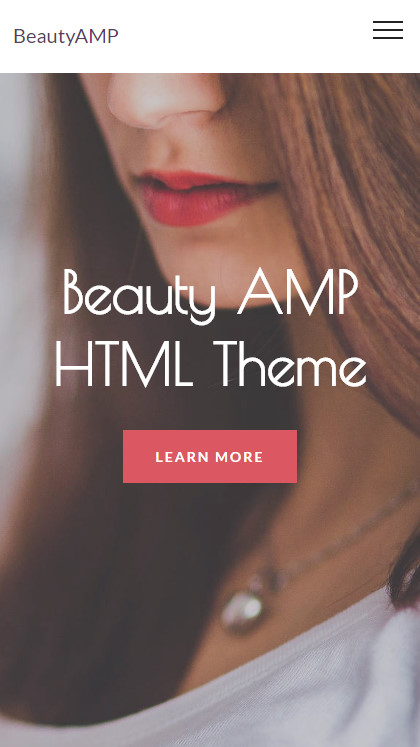 AMP HTML Theme