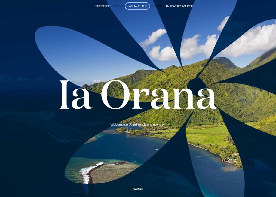 The Tahitian Dreamliner