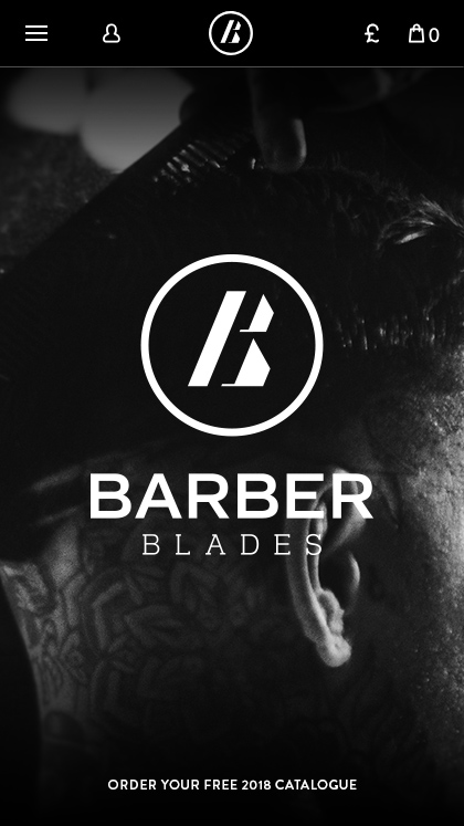Barber Blades eCommerce Store