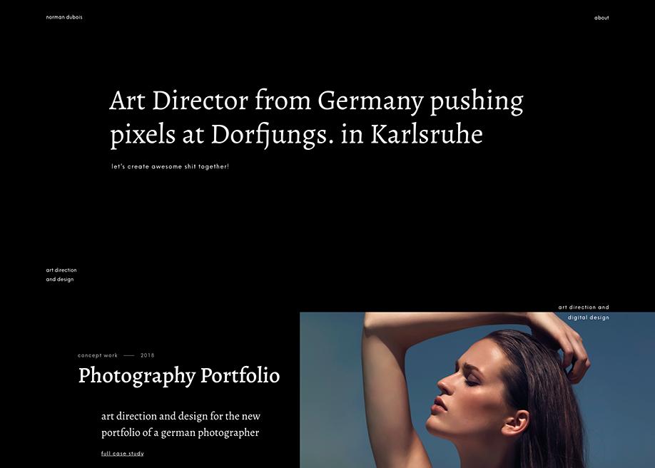 Norman Dubois Design Portfolio