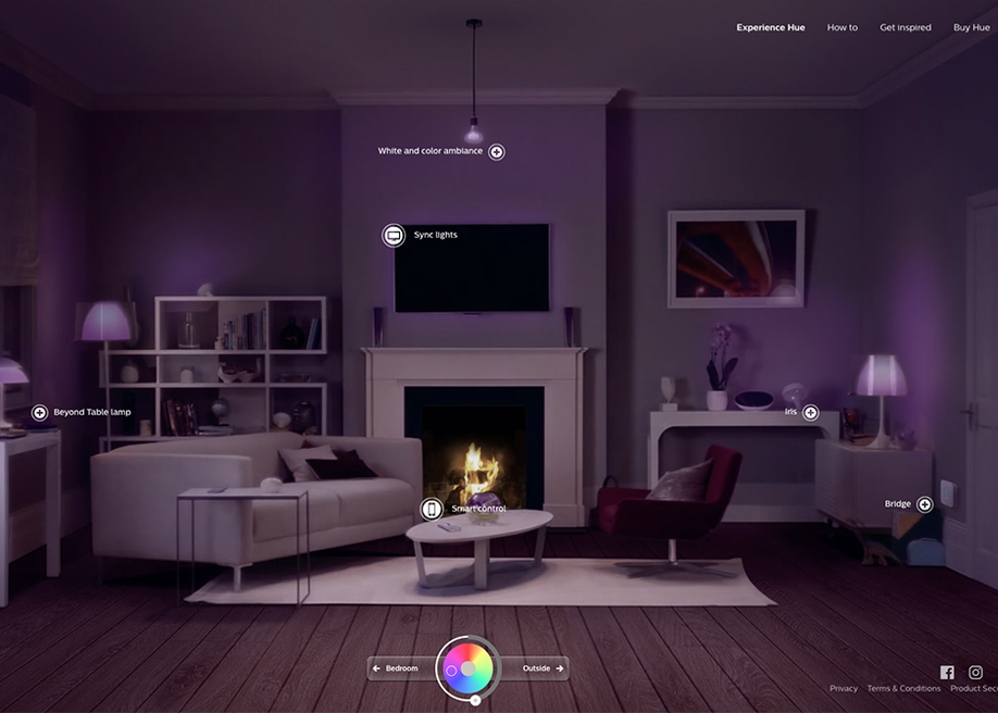 Experience Philips Hue