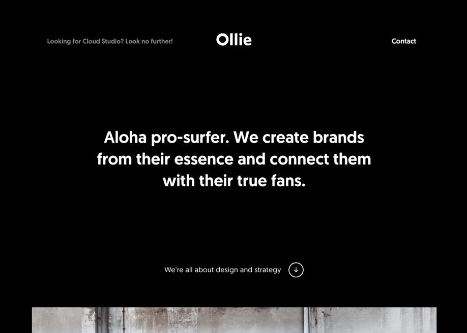 Ollie — Design & Strategy