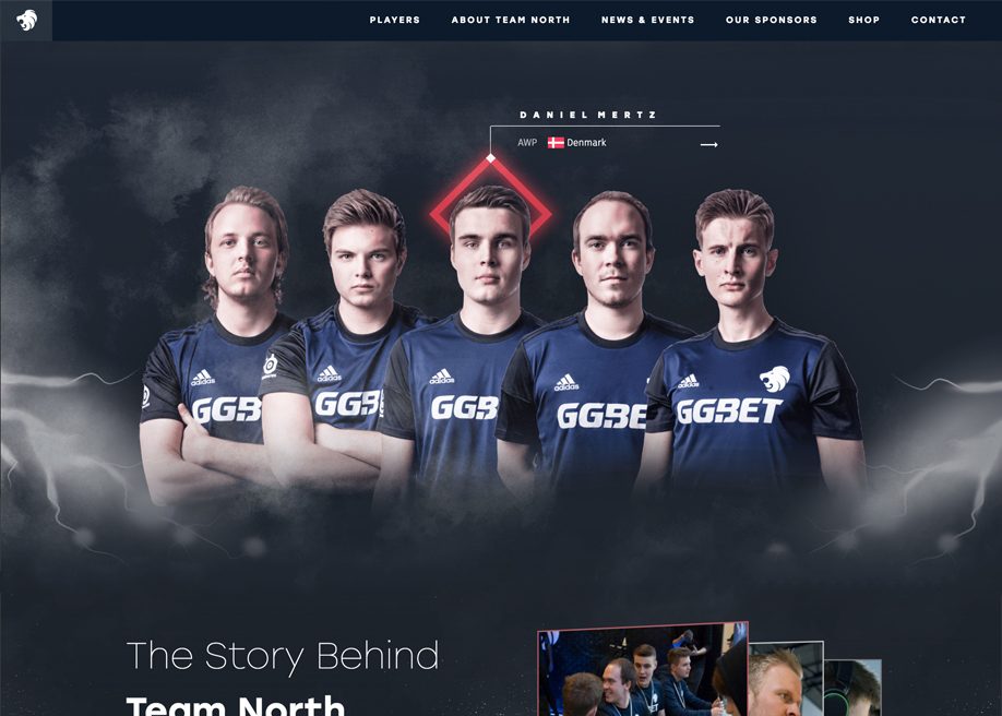Team North Official Website
