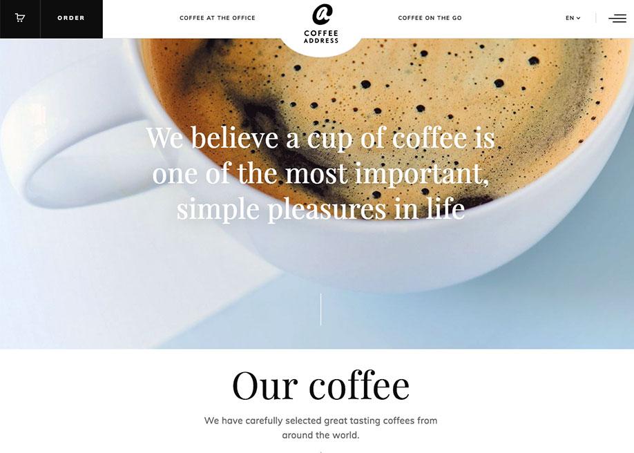 Coffee Address