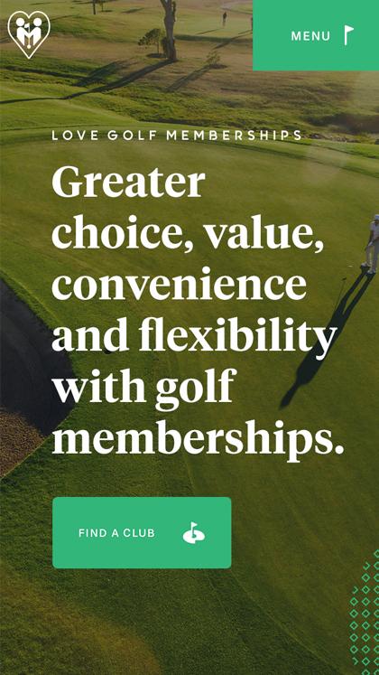 Love Golf Memberships