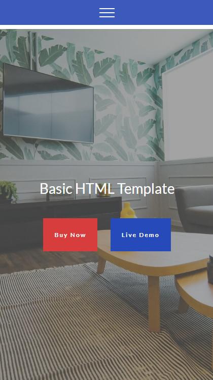 Basic HTML Template