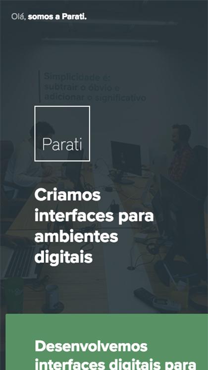 Parati UI Design Studio