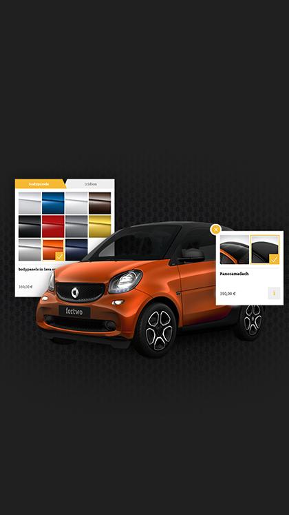 smart 3D Car Configurator