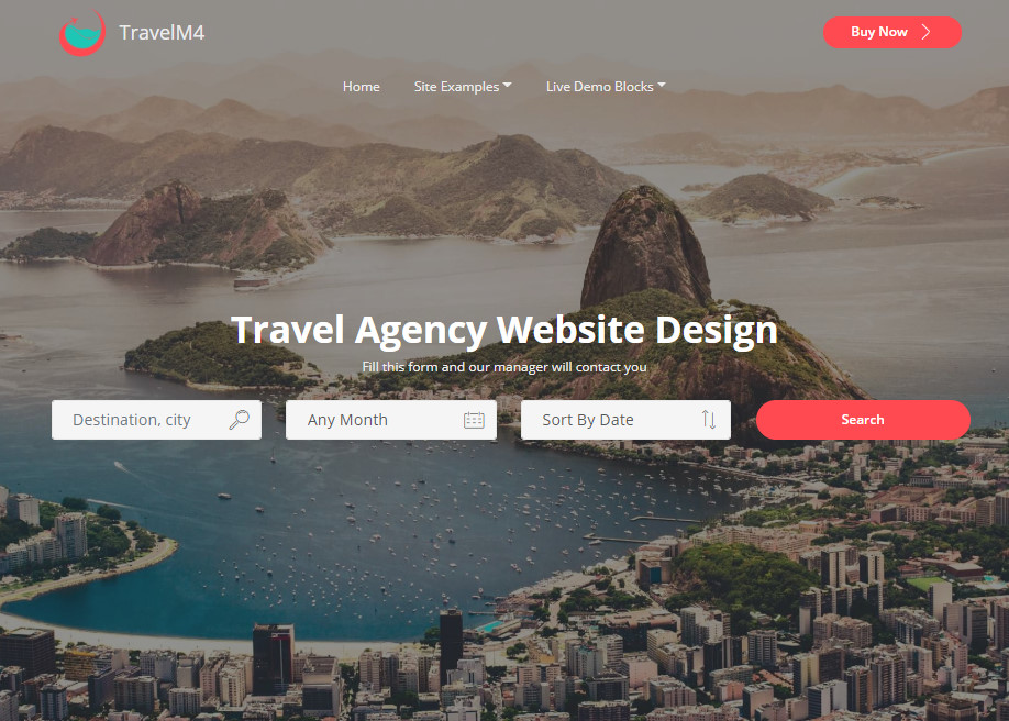 Travel Agency Website >> Travel Agency Website Design Awwwards Nominee