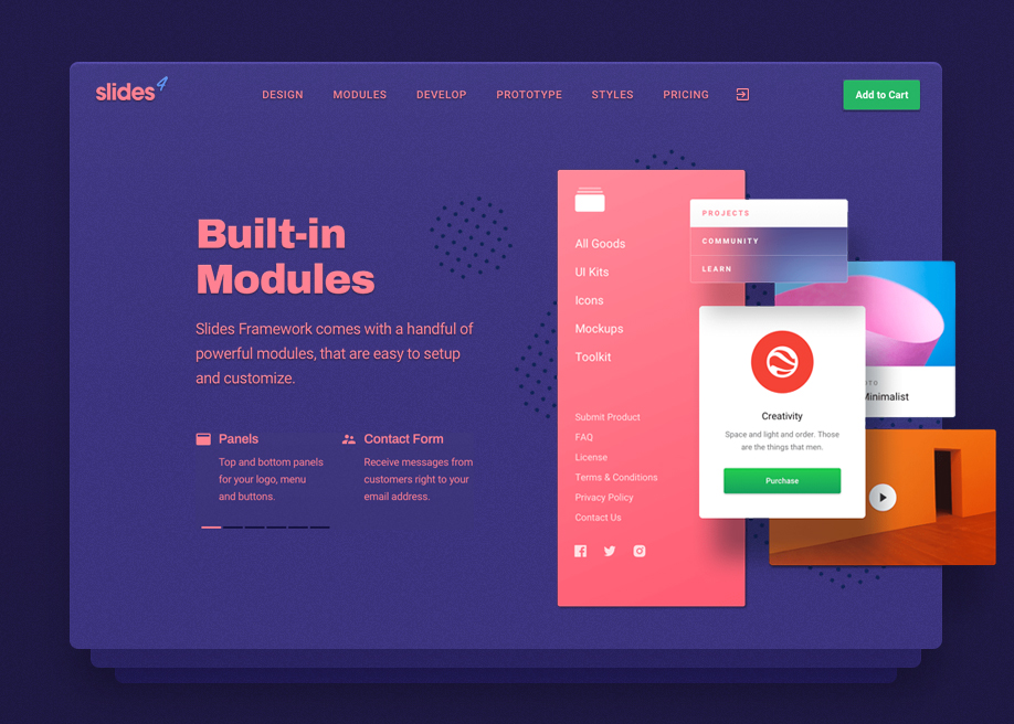 Slides 4 by Designmodo