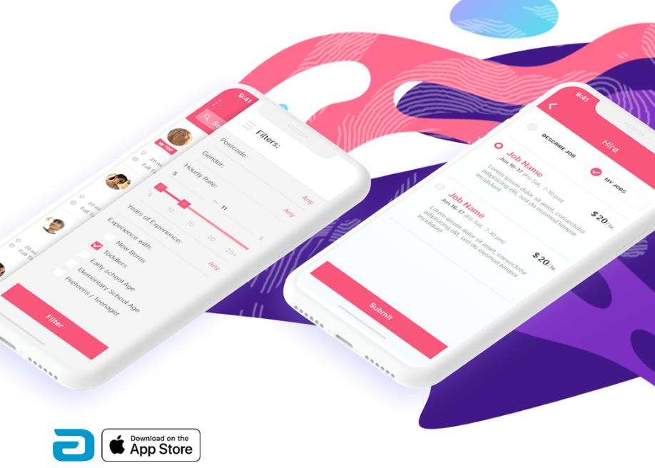 VK - freelancing & booking app - Awwwards Nominee