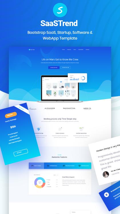 SaaSTrend Startup Template