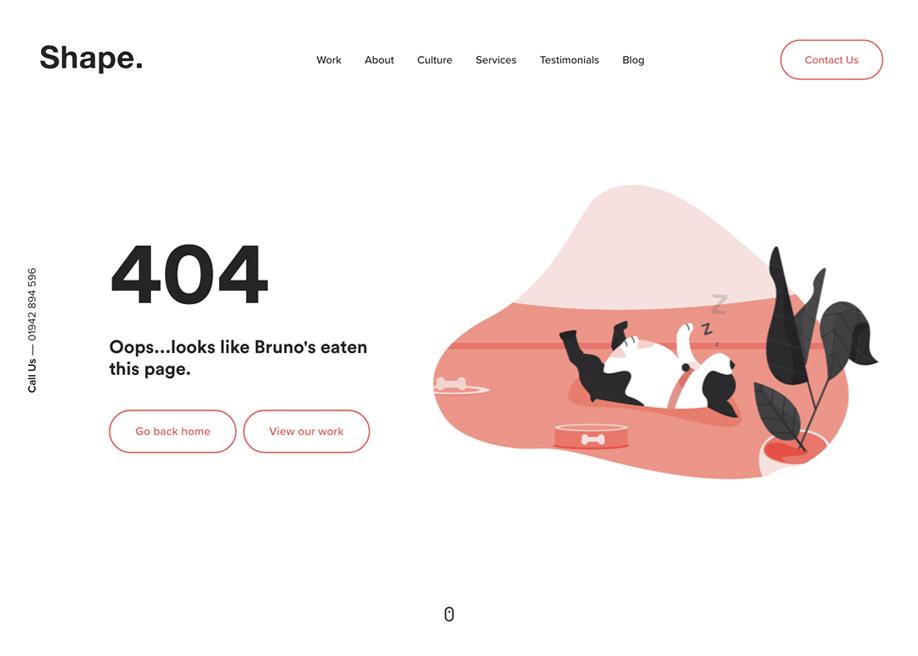 MadeByShape 404
