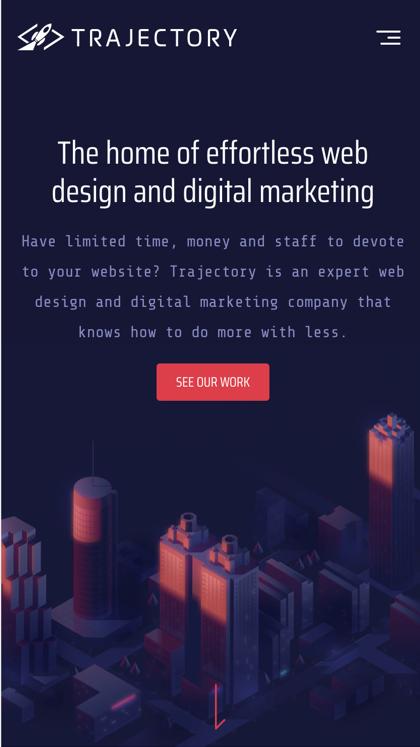 Trajectory Web Design