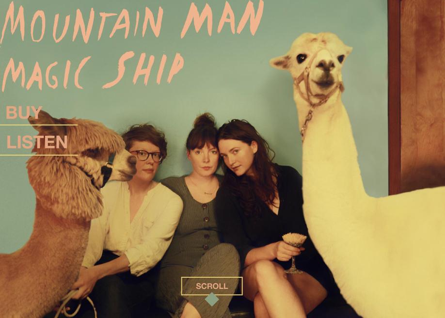 Mountain Man Band Website