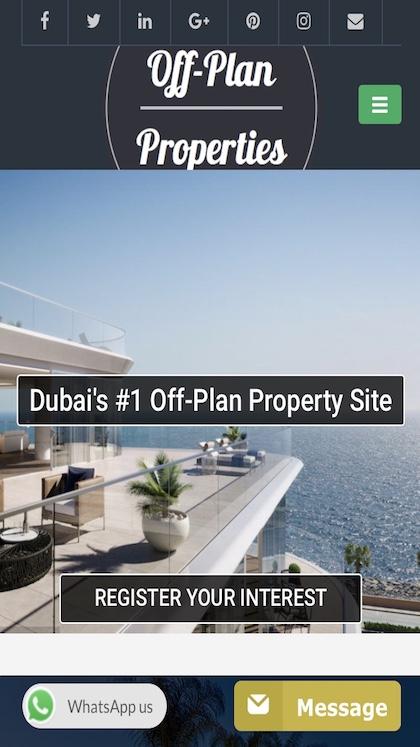 Off-Plan Properties Dubai