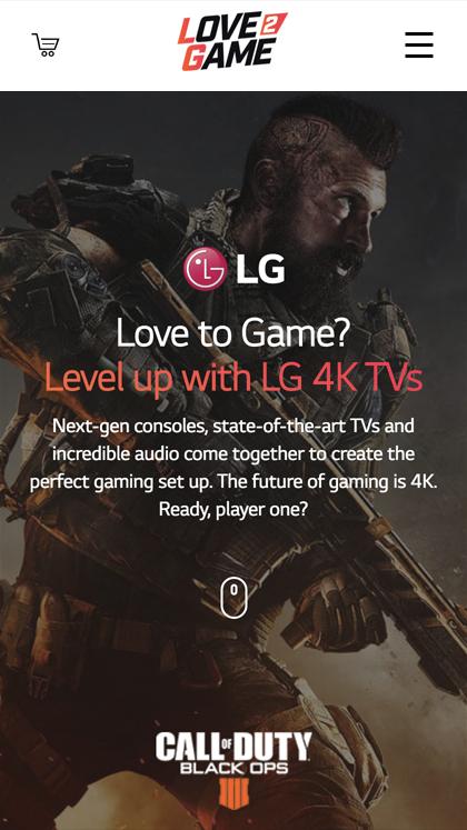 LG - Love 2 Game