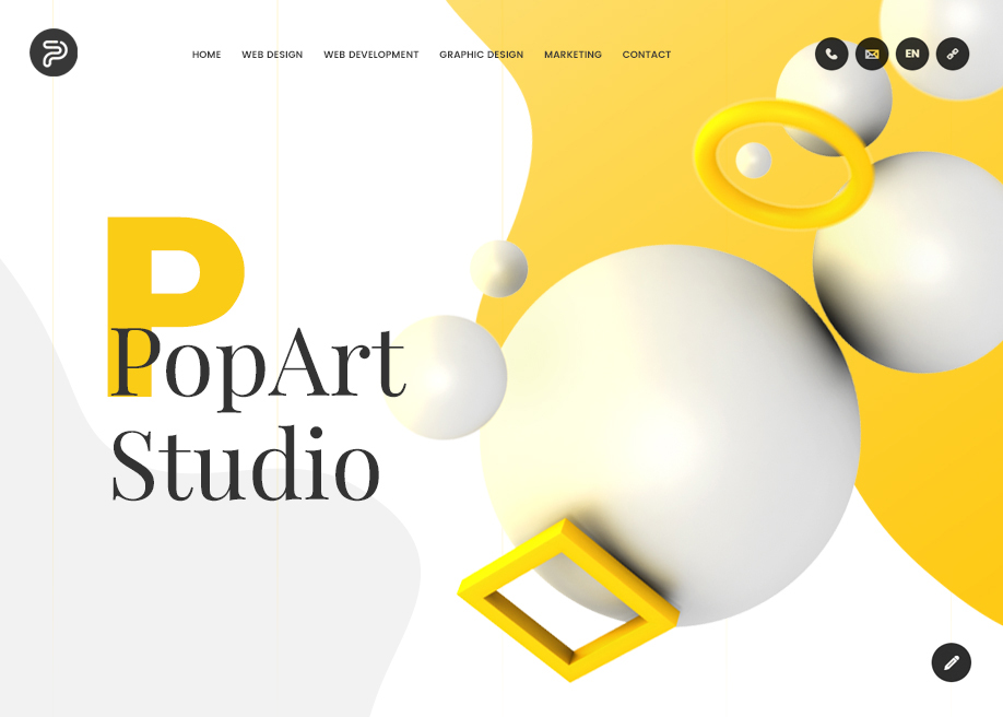 PopArt Studio Digital Agency - Mobile Report