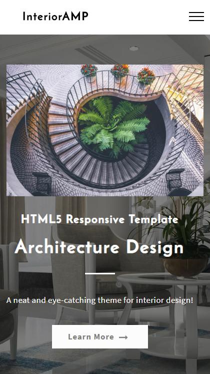 HTML5 Responsive Template