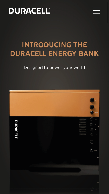 Duracell Energy Bank