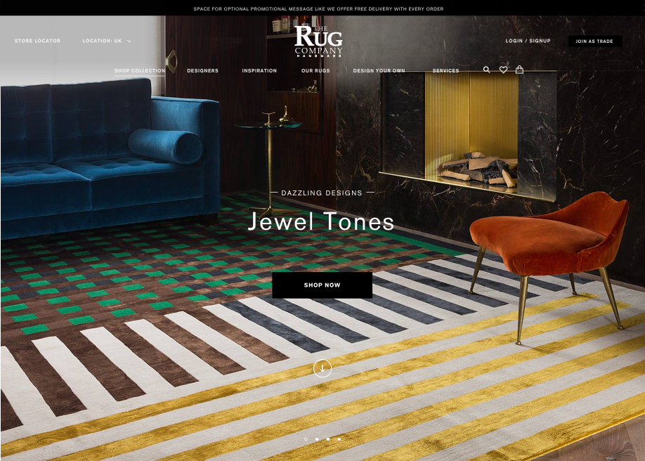 The Rug Company Awwwards Nominee