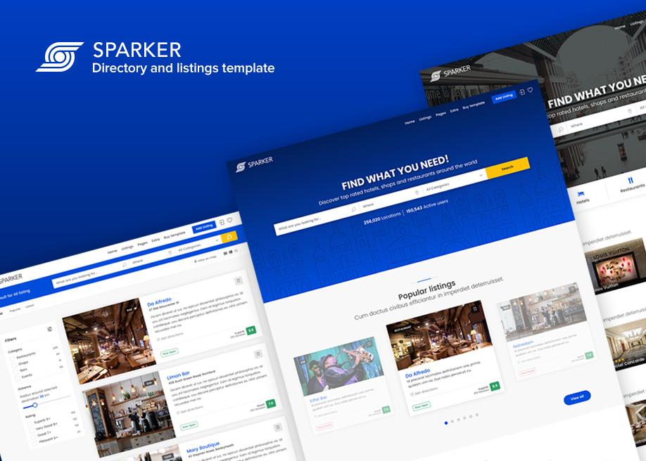 Sparker - Directory & Listings