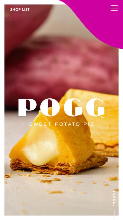 POGG | SWEET POTATO PIE
