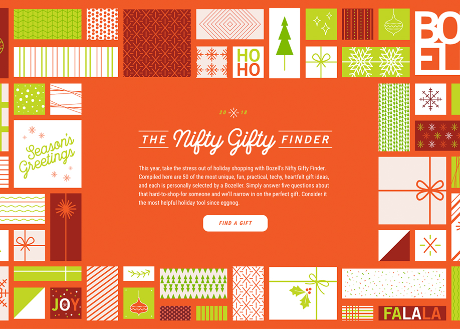 The Nifty Gifty Finder