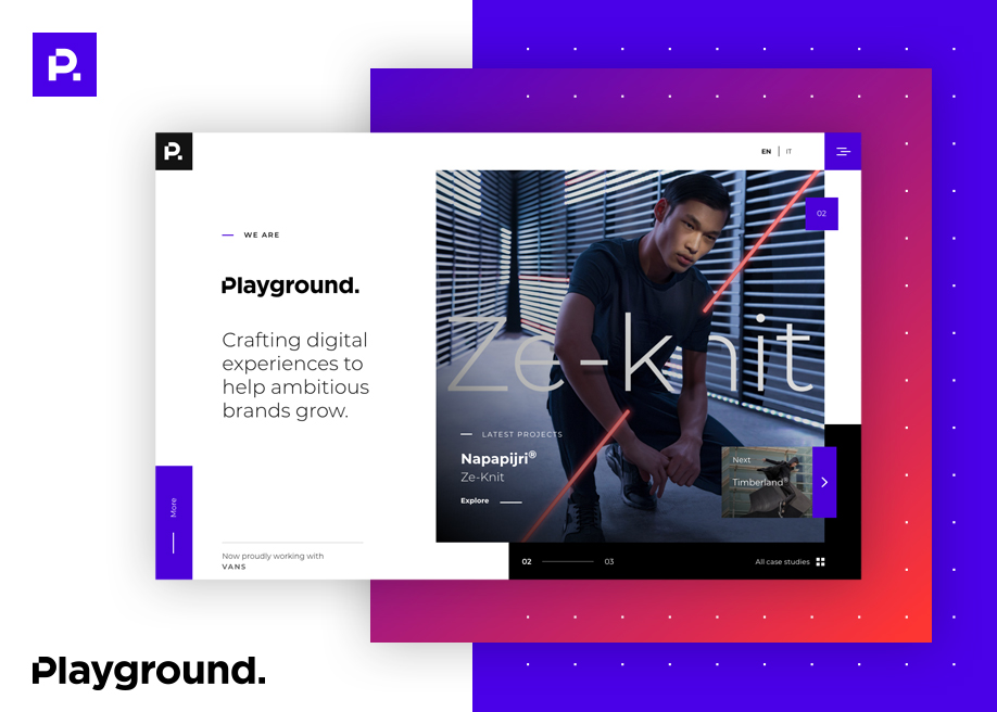 Playground - Corporate website