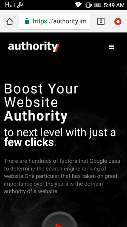 Authority SEO Services