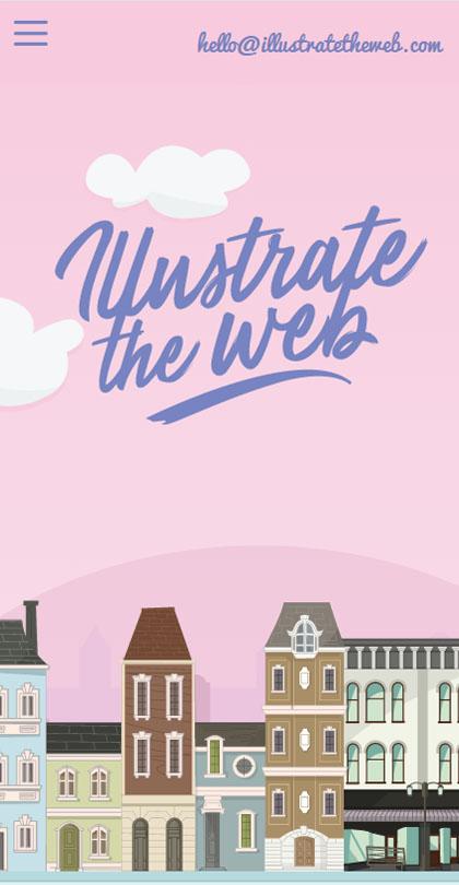 Illustrate the web