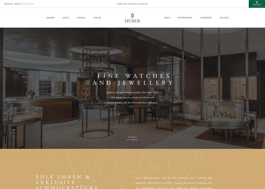 Huber Fine Watches & Jewellery