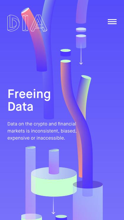 DIA Open-source financial data