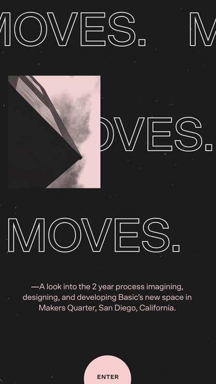 BASIC® — MOVES.