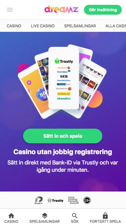 Mobile Casino Sweden
