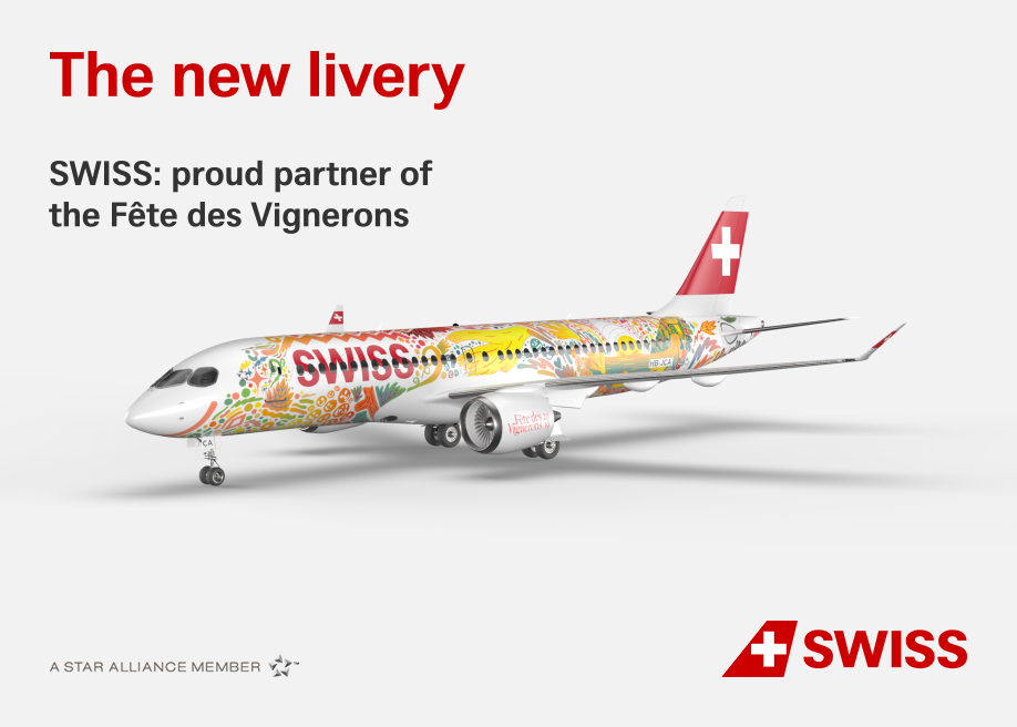A new special SWISS livery