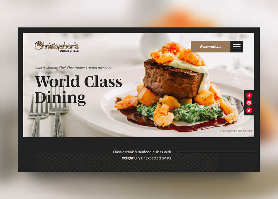 Christopher's World Grille