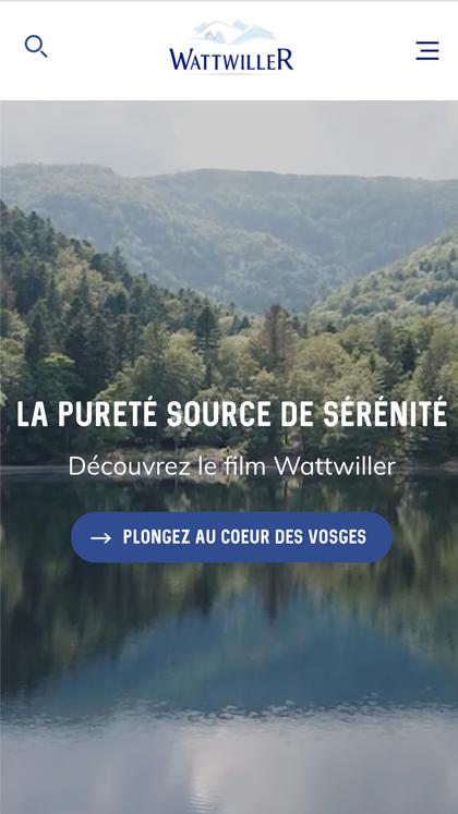 Wattwiller - Eau minérale