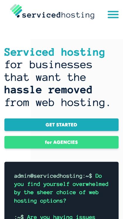 Serviced Hosting