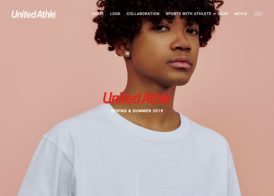 United Athle Look Book SS 2019