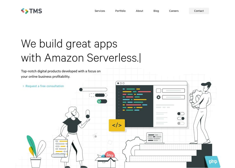 TMS - Web App Development