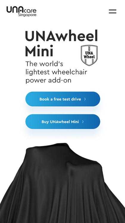 UNAwheel Mini by UNAcare