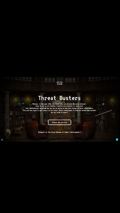 Cisco Threat Busters