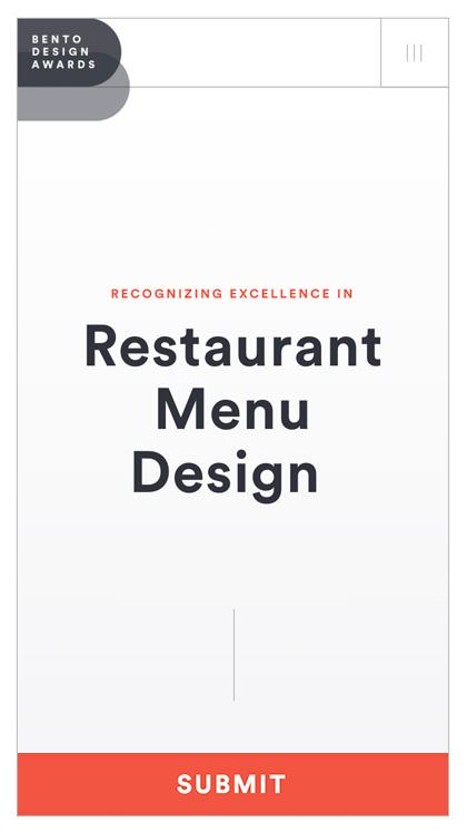 Bento Design Awards