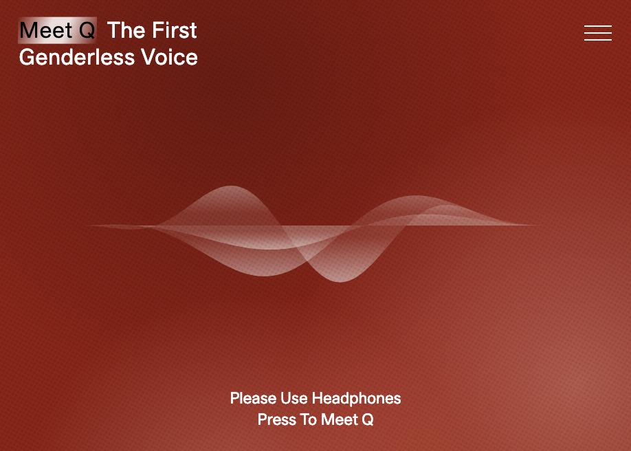 The First Genderless Voice