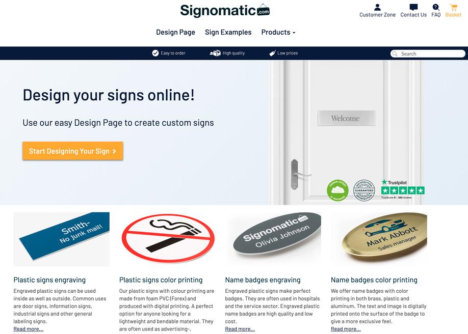 Signomatic com - Mobile Report